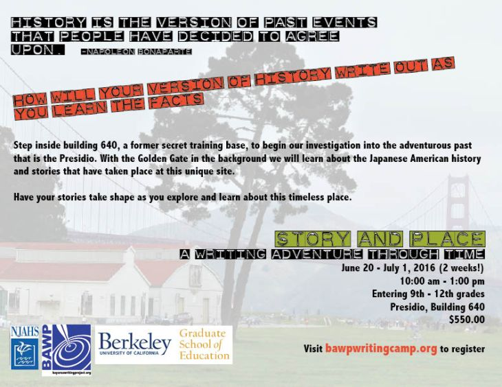 Story and Place Flyer